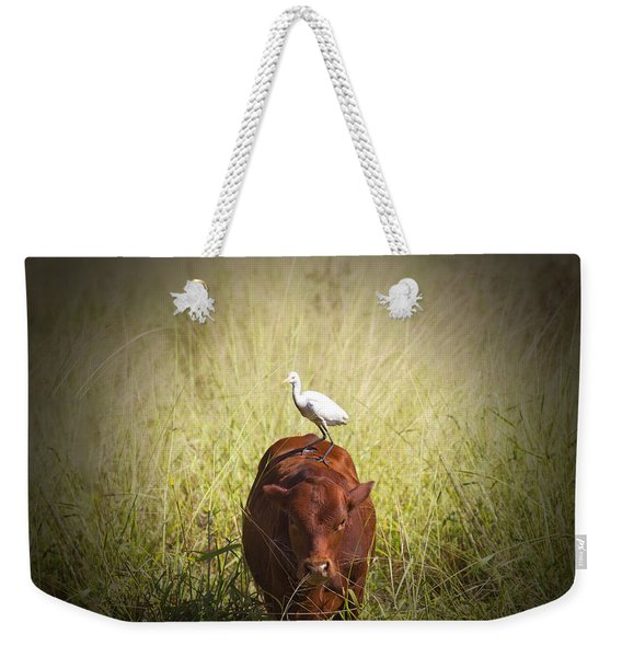 Life On The Farm V5 Weekender Tote Bag
