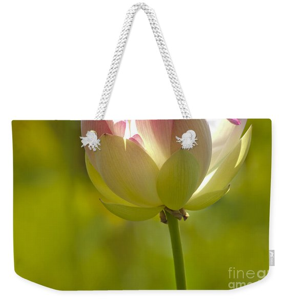 Lotus Detail Weekender Tote Bag