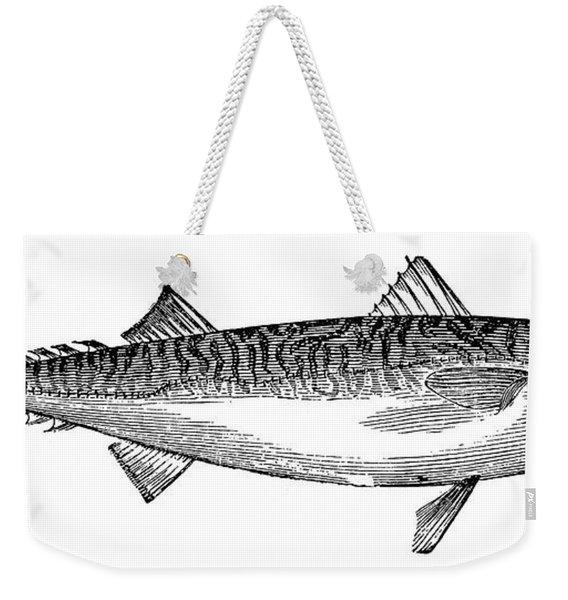 Mackerel Weekender Tote Bag