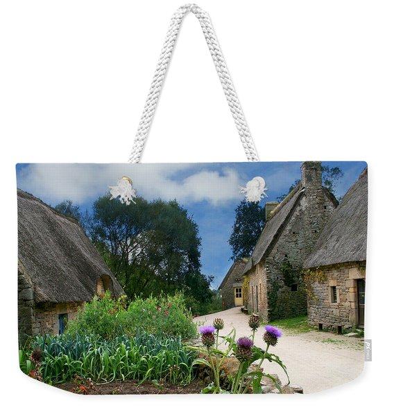 Medieval Village Weekender Tote Bag