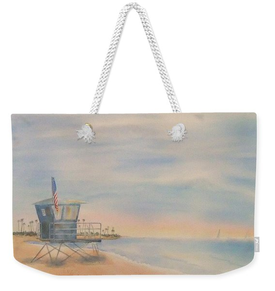 Morning By The Beach Weekender Tote Bag