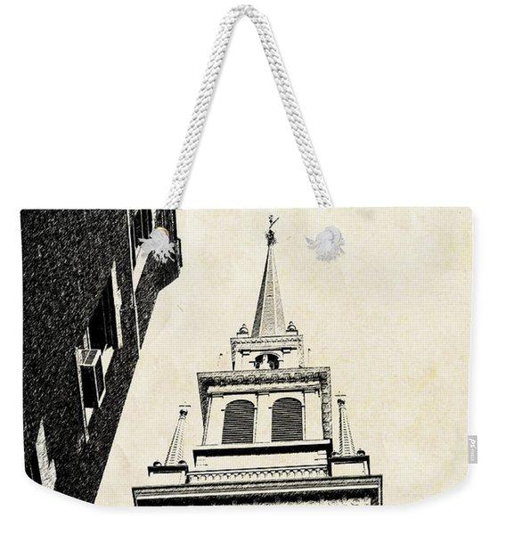Old North Church In Boston Weekender Tote Bag