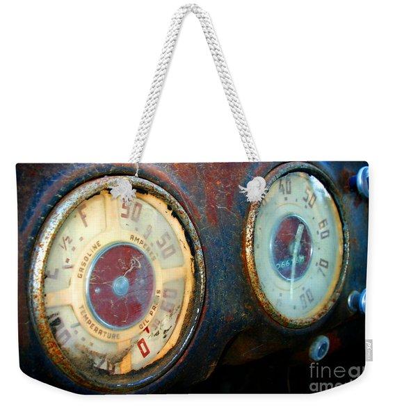 Old Speed Weekender Tote Bag
