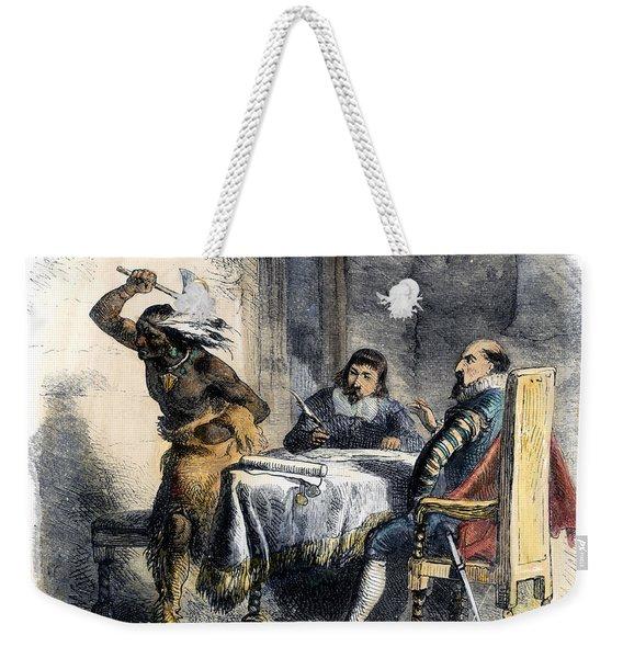 Opechancanough Weekender Tote Bag