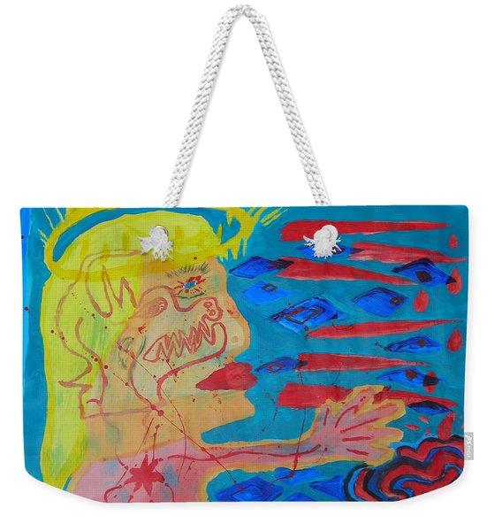 Past Their Mask - Hate Evil  Weekender Tote Bag