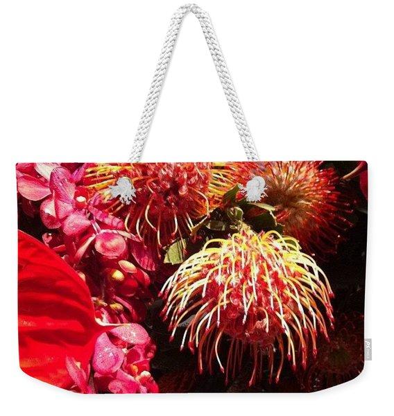 Philadelphia Flower Show Weekender Tote Bag