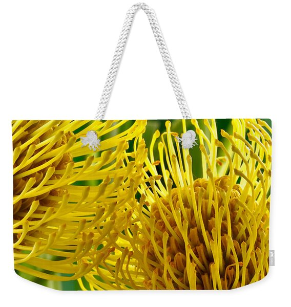 Picture Of A Pincushion Protea Weekender Tote Bag