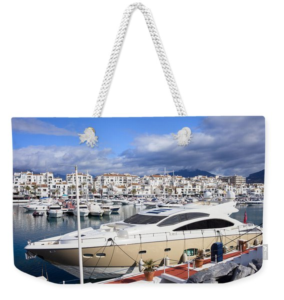 Puerto Banus Marina Weekender Tote Bag