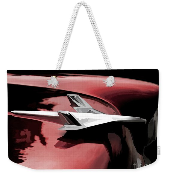 Red Chevy Jet Weekender Tote Bag