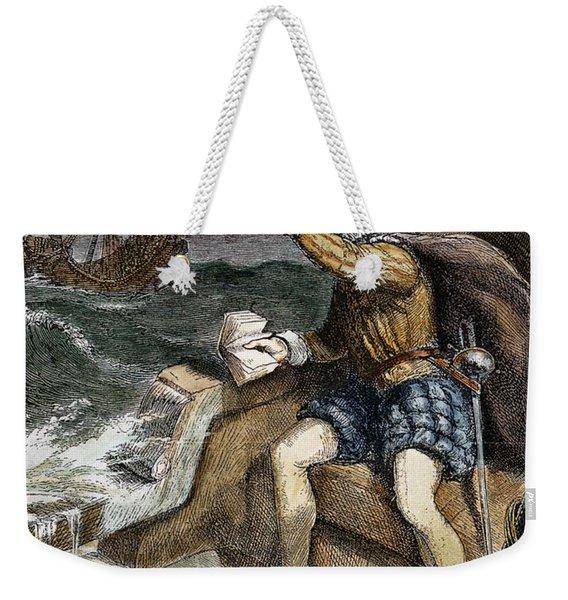 Sir Humphrey Gilbert Weekender Tote Bag