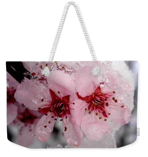 Spring Blossom Icicle Weekender Tote Bag