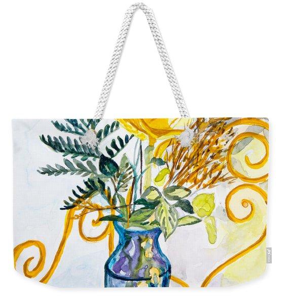 The Blue Vase Weekender Tote Bag