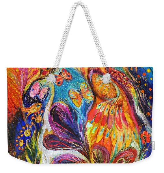 The Dance Of Butterflies Weekender Tote Bag
