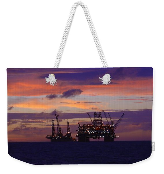 Thunder Horse Before The Storm Weekender Tote Bag