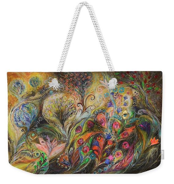 Under The Wind Weekender Tote Bag