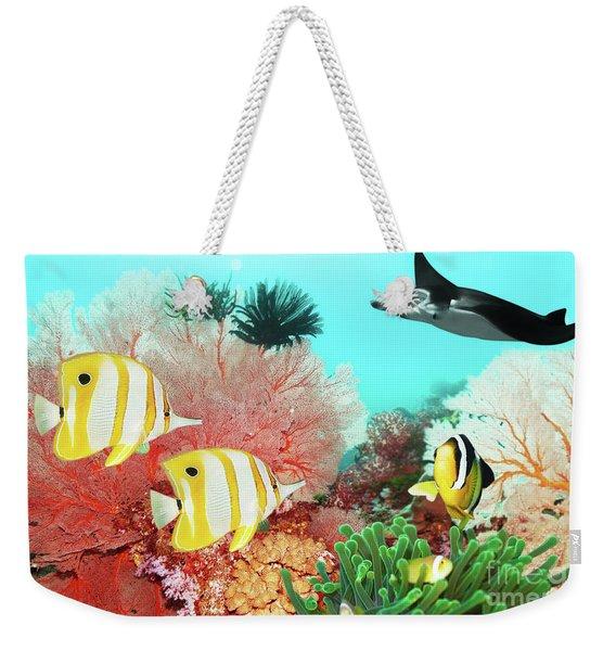 Underwater World Weekender Tote Bag