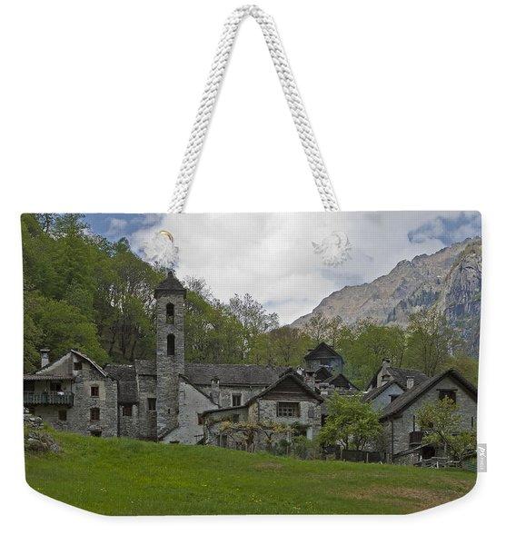 Valle Bavona - Ticino Weekender Tote Bag