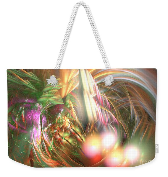 Vanilla Moment - Abstract Art Weekender Tote Bag