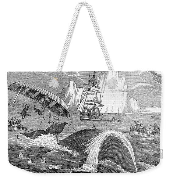 Whaling, 1833 Weekender Tote Bag