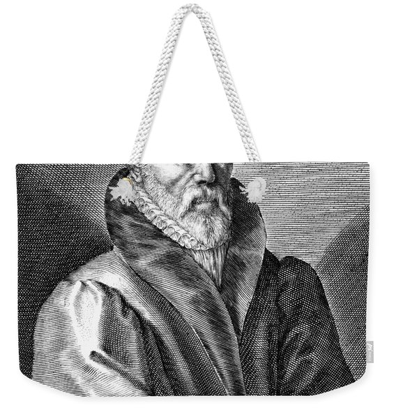 William Tyndale (1492?-1536) Weekender Tote Bag