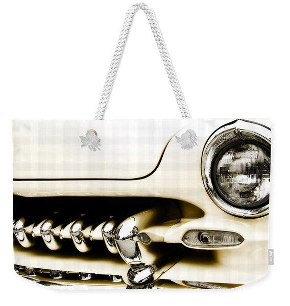 1949 Mercury Weekender Tote Bag