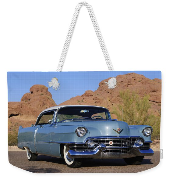 1954 Cadillac Coupe Deville Weekender Tote Bag