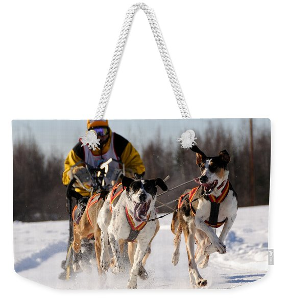 2011 Limited North American Sled Dog Race Weekender Tote Bag
