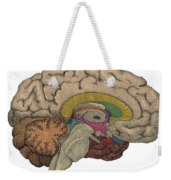Brain Cross-section Weekender Tote Bag