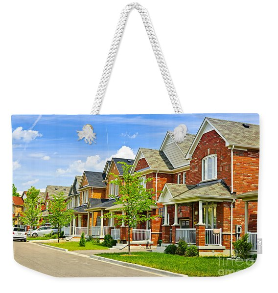 Suburban Homes Weekender Tote Bag