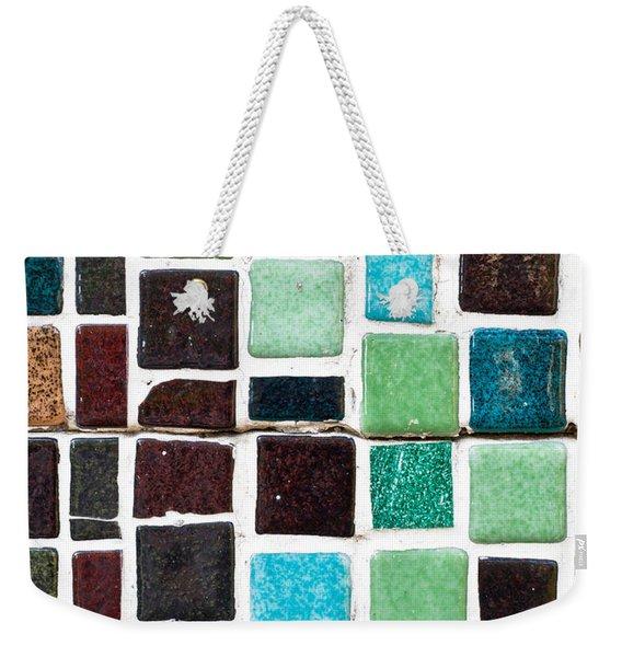Tiles Weekender Tote Bag