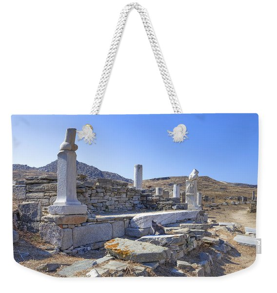 Delos Weekender Tote Bag