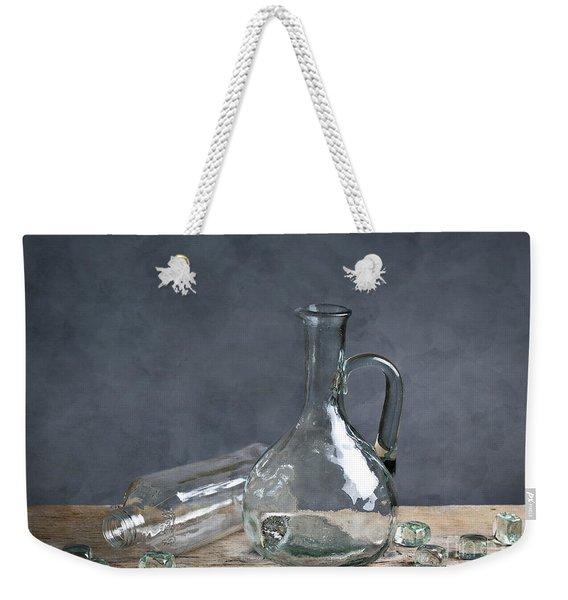 Glass Weekender Tote Bag