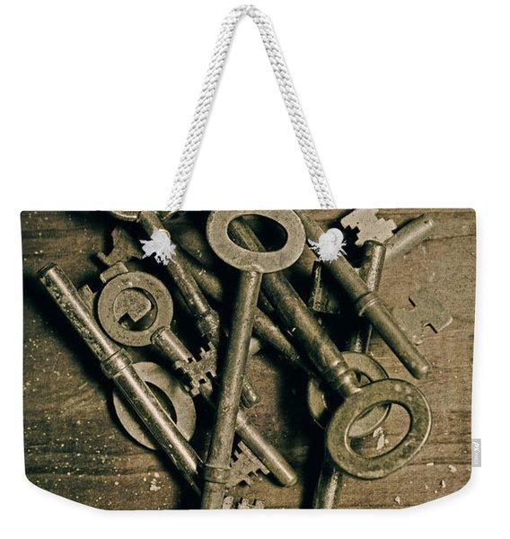 key Weekender Tote Bag