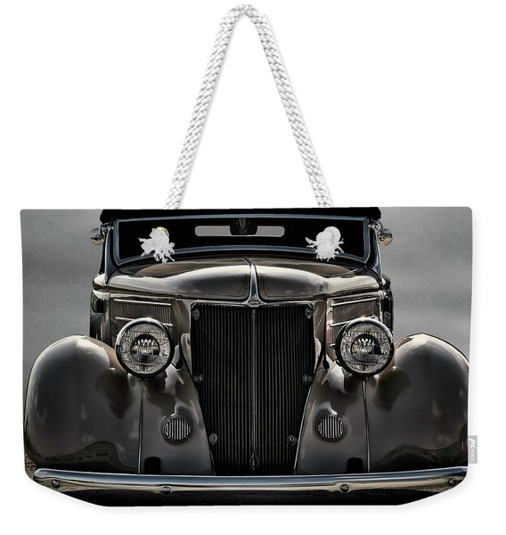 '36 Ford Convertible Coupe Weekender Tote Bag