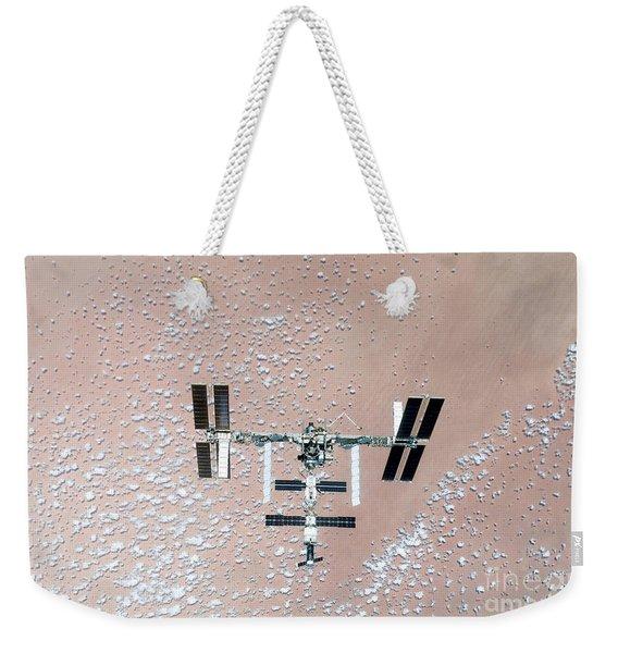 International Space Station Weekender Tote Bag