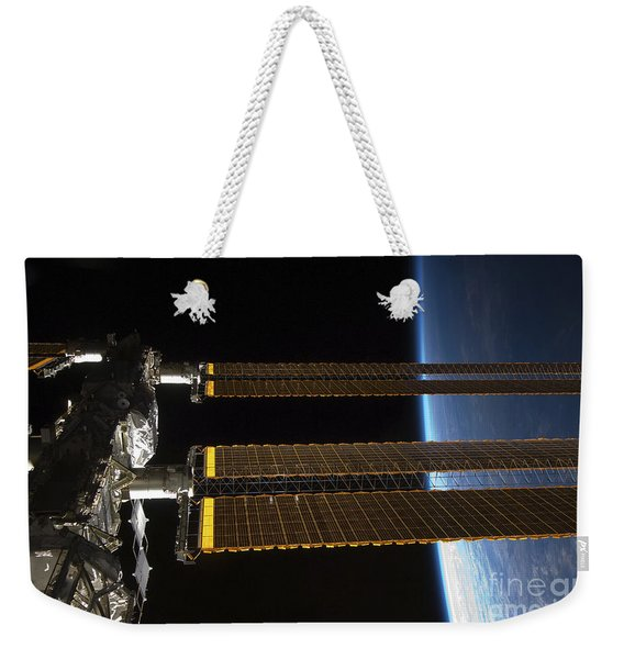 A Portion Of The International Space Weekender Tote Bag