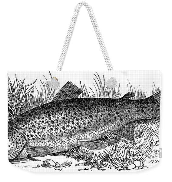 Trout Weekender Tote Bag