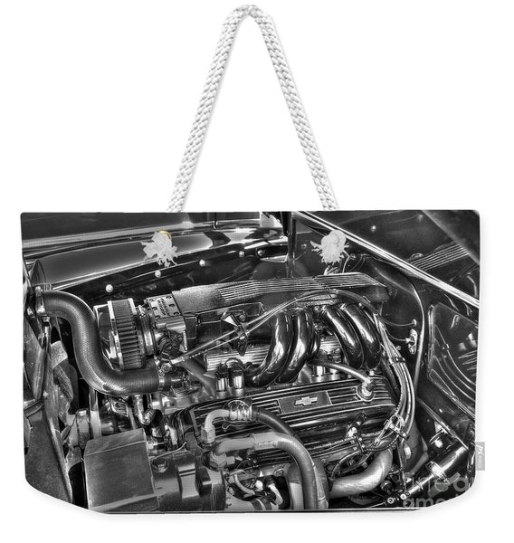 48 Chevy Block Weekender Tote Bag