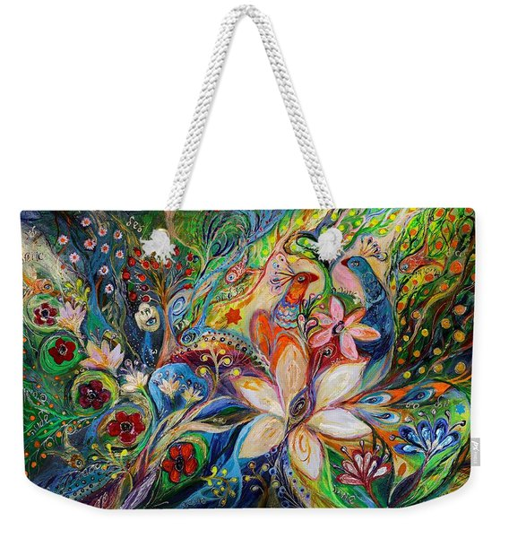 The Magic Garden Weekender Tote Bag