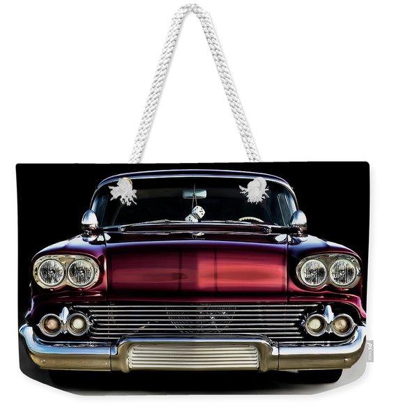 '58 Impala Custom Weekender Tote Bag