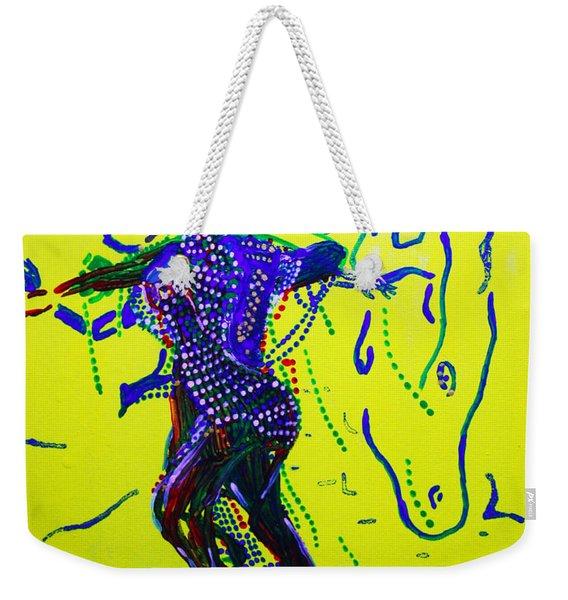 Dinka Dance - South Sudan Weekender Tote Bag
