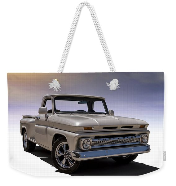 '66 Chevy Pickup Weekender Tote Bag
