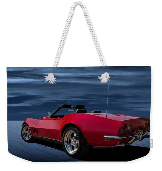 69 Red Weekender Tote Bag