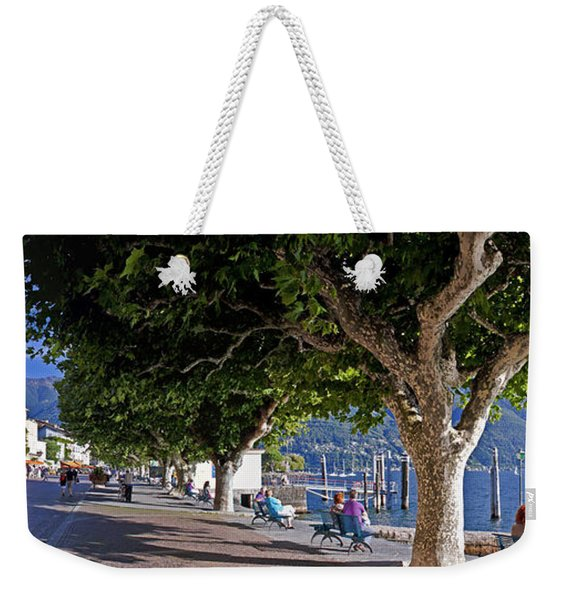 Ascona - Ticino Weekender Tote Bag