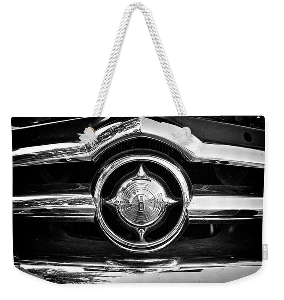 8 In Chrome - Bw Weekender Tote Bag