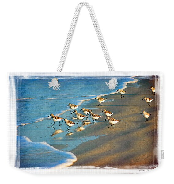 A Bevy Of Pipers Weekender Tote Bag