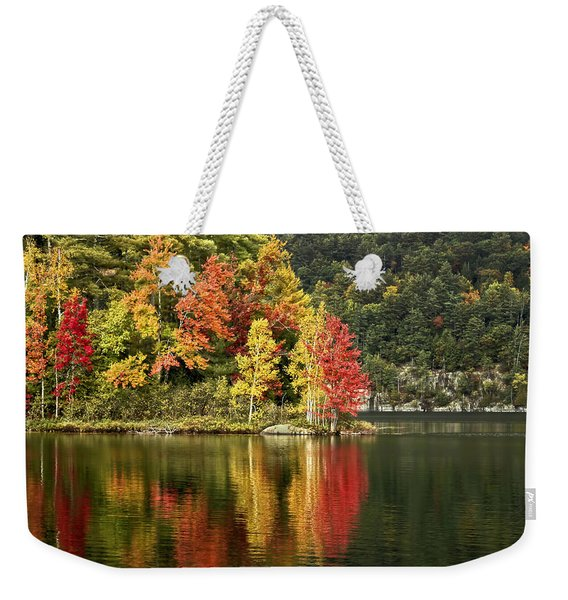 A Breath Of Autumn Weekender Tote Bag