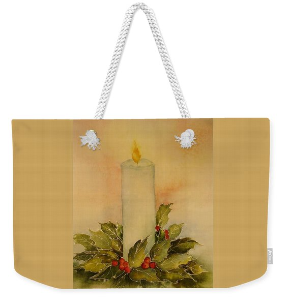 A Candle For Peace Weekender Tote Bag