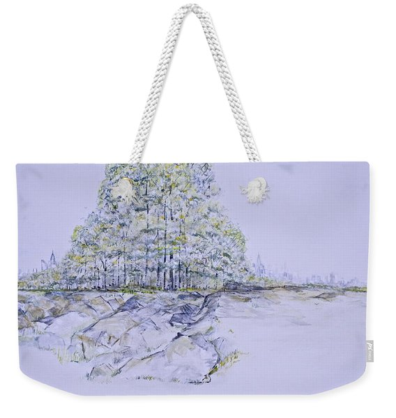 A Day In Central Park Weekender Tote Bag
