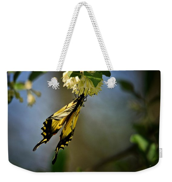 A Feast For The Butterfly Weekender Tote Bag